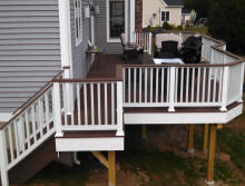 deck building composite decking