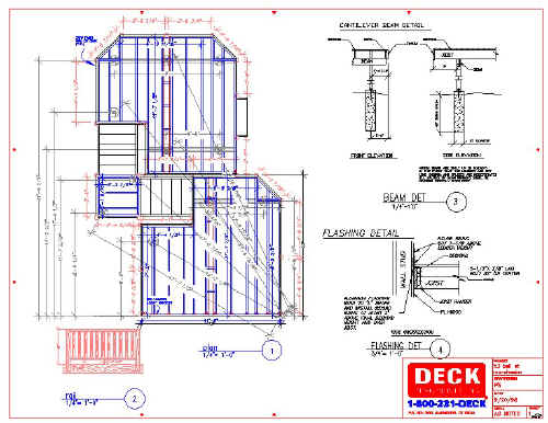 Deck plans deck planning deck designer deck designs deck architech deck blueprints - Design basics house plans set ...