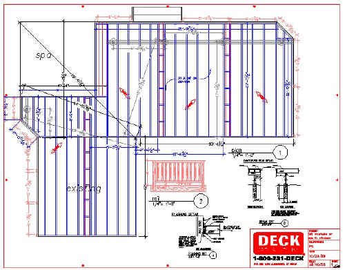 Deck Plans With Hot Tub Joy Studio Design Gallery Best