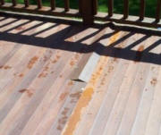 ipe decking buckling from hidden fasteners