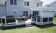 composite deck pictures deck specialists inc