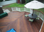 ct ipe deck oiled with cabots