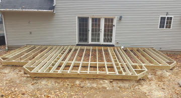 custom low level deck framing deck specialists inc for ipe deck