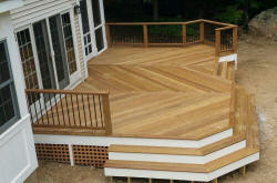 large custom ipe deck glastonbury ct deck pro builders deck specialists inc