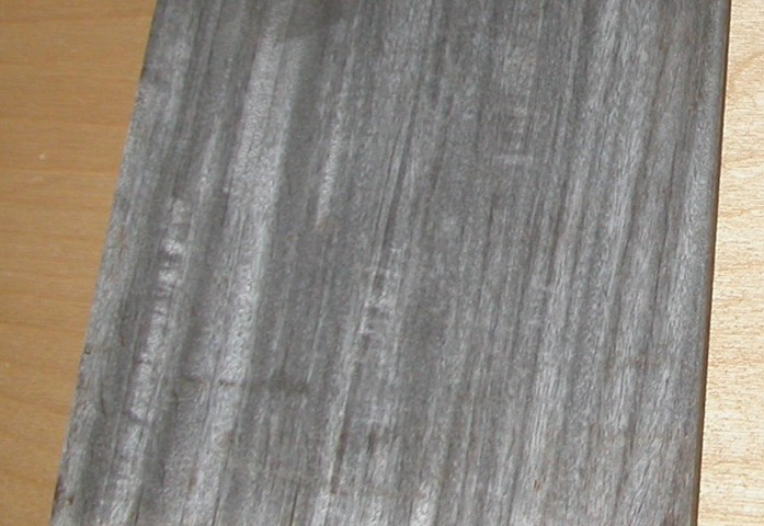 ipe decking with silver patina