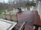 rich ipe decking oiled