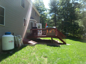 tolland ipe deck nice shape before